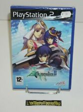 ++ jeu playstation 2 PS2 ar tonelico II melody of metafalica NEUF sous blister +