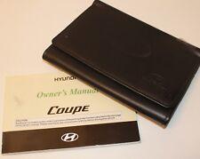 Genuine HYUNDAI COUPE (2002–2005) OWNERS MANUAL GUIDE HANDBOOK WALLET