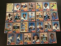 1981 Topps CHICAGO CUBS Complete TEAM Set DAVE KINGMAN Bruce SUTTER Bill BUCKNER