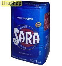 Y124 SARA AZUL EXTRA SMOOTH SUAVE 1KG TEA YERBA MATE