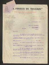 """PARIS (I°) MACHINES-OUTILS AMERICAINES """"AUX FORGES DE VULCAIN / CHOUANARD"""" 1916"""