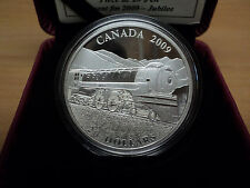 2009 $20 Dollar Jubillee Fine Silver Locomotive Coin W/Edge Lettering