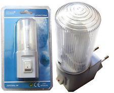 Lot de 5 Lampes Nocturne Veilleuse Intérieur 250v/50Hz 3W Nuit Couloir Passage