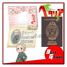 Hetalia Passport Cosplay Notepad Germany Doitsu