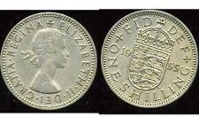 ROYAUME UNI  one shilling 1955 ( rev  ENGLISH  )