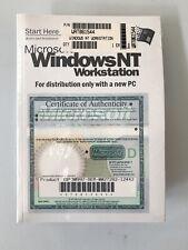 Windows NT 4.0 *NEW* Original Sealed