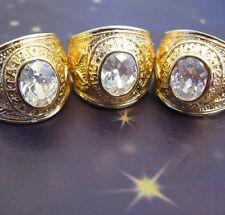 Dolly-Bijoux Chevalière Diamant Cz US Army Plaqué Or 18K 5Microns MadeInFrance