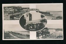 Cornwall PADSTOW M/view  used 1947 RP PPC