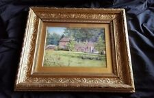 19th Century Framed Watercolour Signed and Dated 1874 - Manor House Barnsbury