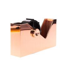 TOM DIXON Cube Selotape Holder Tape Dispenser Copper Plated Lacquered Finishing