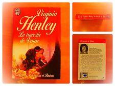 La colombe et le faucon.Virginia Henley. J'Ai Lu Aventures & et Passions N° 3259