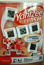 NEW Electronic YAHTZEE Flash Game 4 Fast Action Games Poker, Dice & More