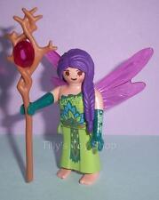Playmobil Hada para Dama con púrpura Hair & personal para conjuntos de Castillo Mágico-Nuevo