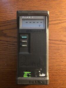 Fluke 51 K/J Type Handheld Digital Thermocouple Thermometer - NO PROBE