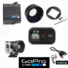 GOPRO HERO6 HERO7 BLACK FISHEYE LENS +MACRO LENS+ WIFI REMOTE + ORIGINAL BATTERY