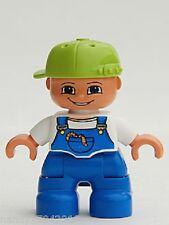 LEGO DUPLO personaggio Bambino Ragazzo figlio di casa delle bambole con berretto Child Boy da 4665