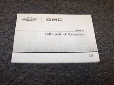 2012 Chevy Avalanche Navigation System Owner Operator Guide Manual LS LT LTZ