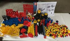 Meccano Junior Erector Lot huge 5.5 lbs VTG  Mechanical engineering building Toy