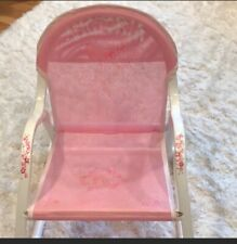 'Victoria ' personlized toddler rocking chair. Sweet and beautiful chair!