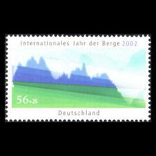 Germany 2002 - International Year of Mountains Art - Sc B897 MNH