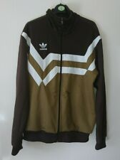 Adidas Originals Retro Style Jacket Size Adults Large Brown/gold football