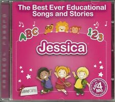 THE BEST EVER EDUCATIONAL SONGS & STORIES PERSONALISED CD - JESSICA - ABC 4 ME
