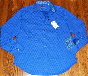 ROBERT GRAHAM MENS ORIGINAL BRAND NEW AUTHENTIC DRESS SHIRT Size M (MEDIUM), NWT