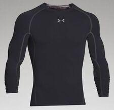 Under Armour UA Mens Compression Long Sleeve HeatGear Shirt XL 1257471 AYM 96