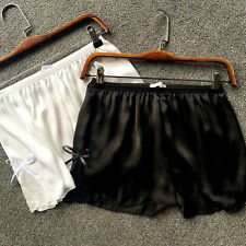 Women Knickers Lady Luxury Lace Satin Shorts Pants Underwear Briefs French