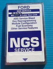 FORD NGS NEW GENERATION STAR TESTER PCMIA PURPLE SERVICE CARD 2006 up NONE CAN