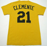 Vintage Pittsburgh Pirates Clemente Majestic Shirt Mens Sz S Small Short Sleeve