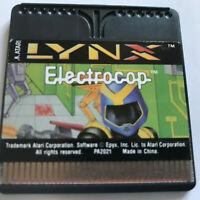 Electrocop / Cart Only / Atari Lynx Game / #1