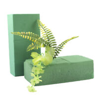 Practical Floral Brick Dry Flower Foam Block Wedding Garden Crafts Bouquet Green