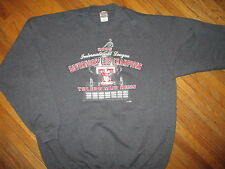 TOLEDO MUD HENS SWEATSHIRT Minor League Baseball TripleA Governors Cup Champs XL