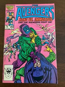 Avengers #269 (Jul 1986, Marvel) Kang vs. Immortus! Kang/Rama-Tut origin VF-