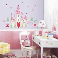 RoomMates Wandtattoo Prinzessinnenschloss Einhorn Pferd Kinderzimmer