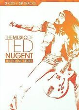 The Music of Ted Nugent by Ted Nugent (CD, Sep-2009, 3 Discs, Epic)