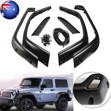6pcs for Jeep/Wrangler TJ 97-06 Pocket Rivet Fender Flares Protector Textu Black