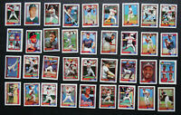 1992 Topps Micro Mini Atlanta Braves Team Set of 36 Baseball Cards