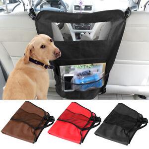 Pet Vehicle Car Travel Mesh Barrier Cat Dog Car Front Back Seat Safety Obstacle