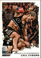 2011 Topps UFC Moment of Truth #55 Cris Cyborg rc