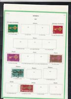 europa 1968 stamps page ref 18441