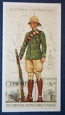 British South Africa Police Trooper      Vintage 1930's Card