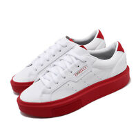 adidas Originals Sleek Super W Fiorucci White Red Bold Women Casual Shoes EE4719