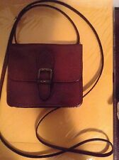 THE TREND ORIGINAL MADE IN ITALY GENUINE LEATHER VINTAGE CROSS BODY BAG TAN