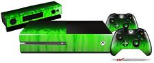 Fire Green Skin Set fits XBOX One Console Controllers