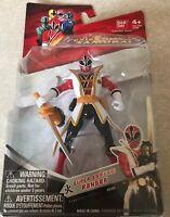 NIB Saban's Power Rangers SUPER SAMURAI Ranger FIRE FUEGO #31701 Bandai Sealed
