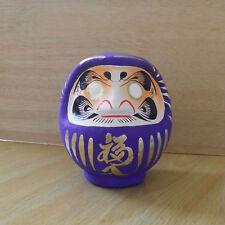petit Daruma violet du Japon --- hauteur 11cm / Lila Daruma / purple Daruma