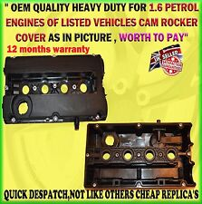 FOR VAUXHALL ASTRA G ZAFIRA CAM ROCKER COVER & GASKET Z16X 1.6 TWINPORT 55556284