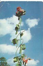 Lake George New York Storytown U.S.A. Jack & The Beanstalk Postcard 1950s